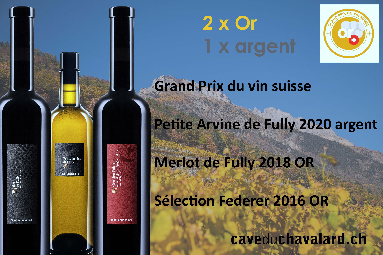 Nos vins primés