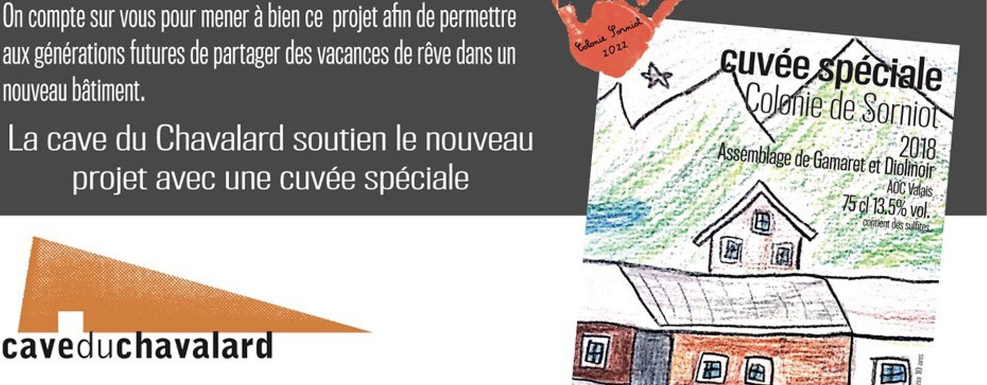 "Wir unterstützen den Neubau der ""Colonie de Sorniot"""