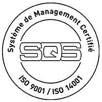 Certifié ISO 9001 / 14001